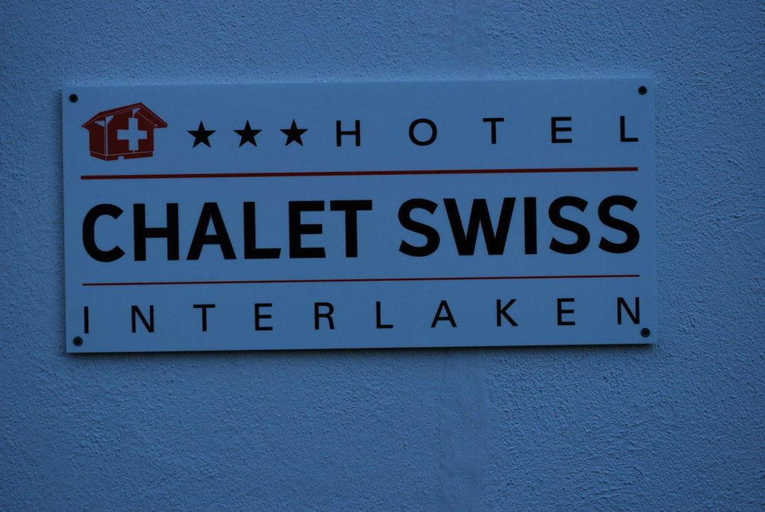 Tafel Hotel Chalet Swiss