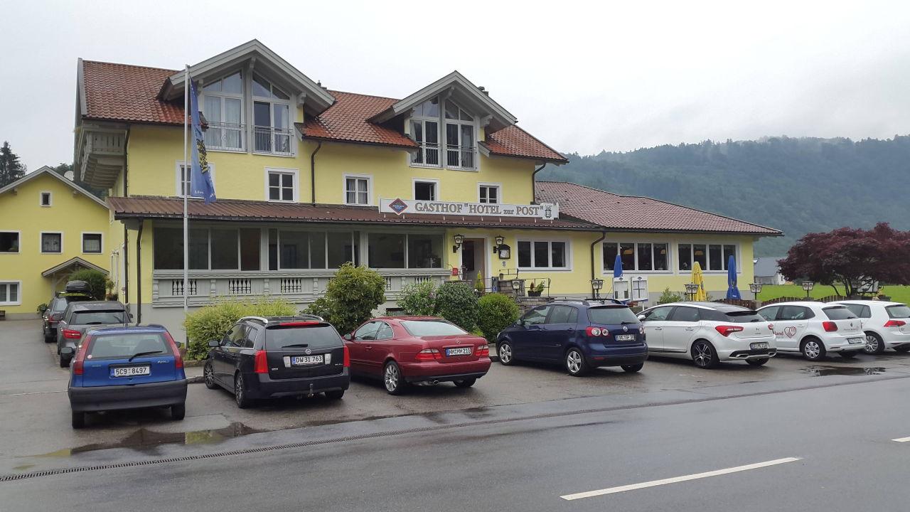 Vorderansicht Hotel Zur Post Erlau Obernzell Holidaycheck