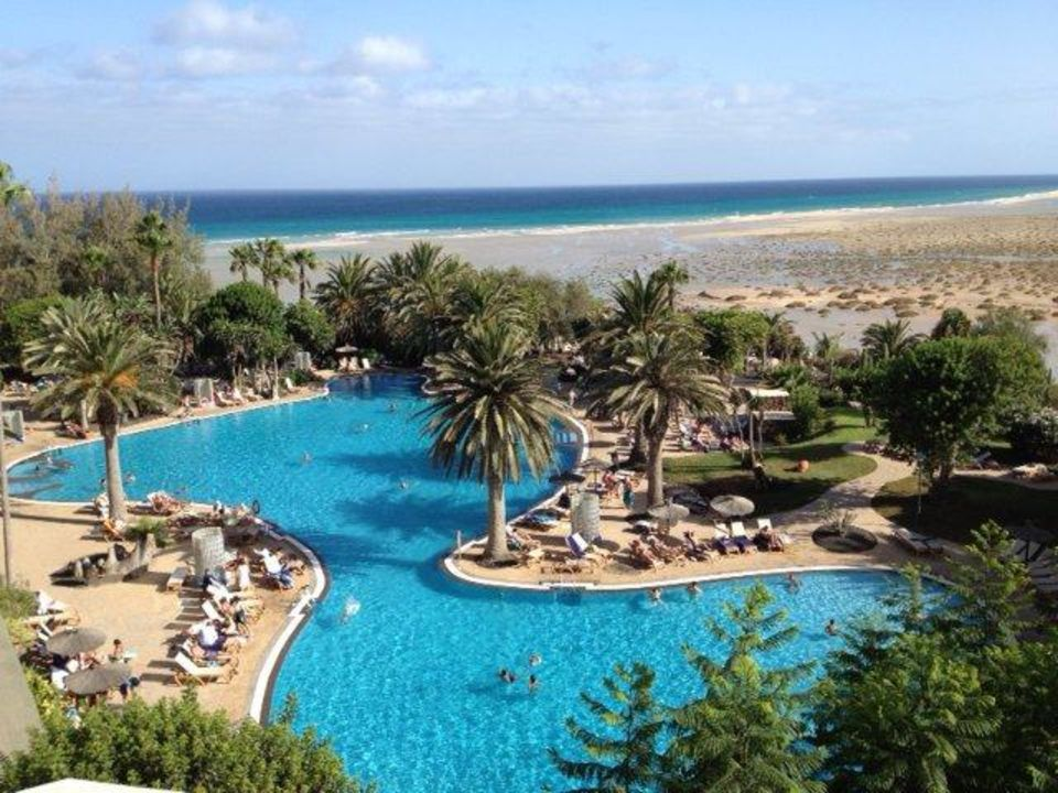 Bild salzwasser pool zu hotel melia gorriones casas del mar in costa calma - Pool salzwasser ...