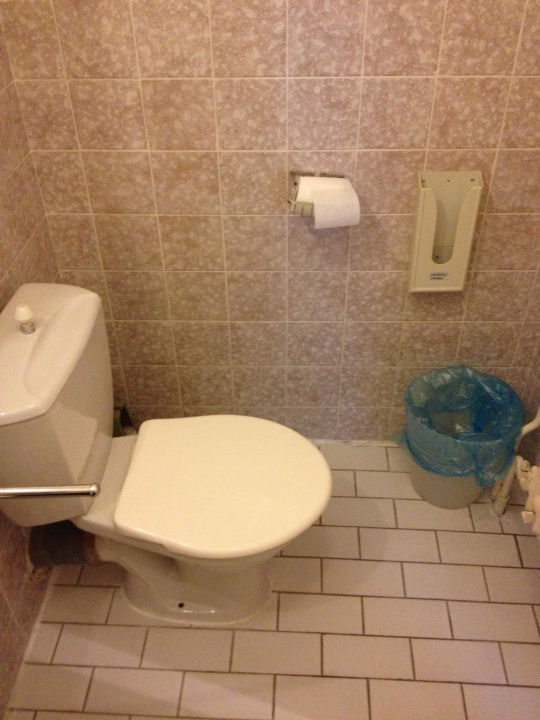 Toilette  Hotel Slavia