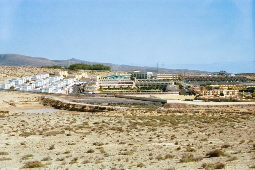 Costa Calma, Club Hotel Drago Park - Blick auf das Hotel PrimaSol Drago Park