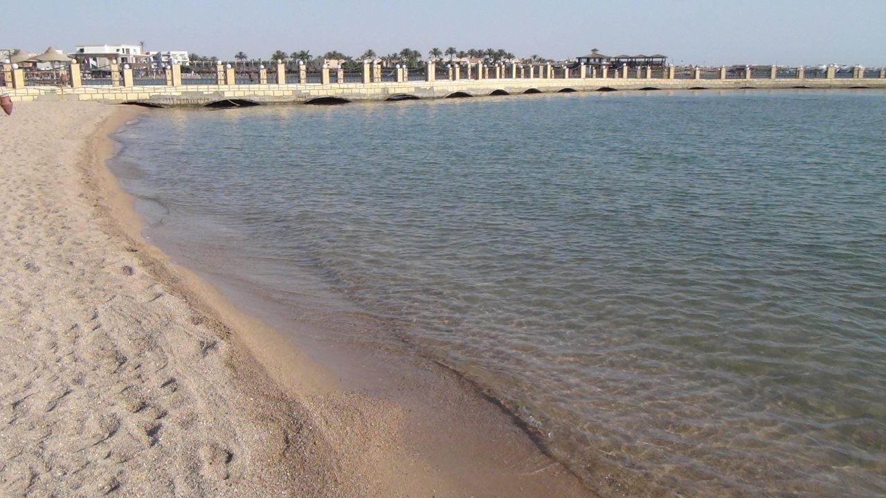 Schöner Sandstrand Dana Beach Resort