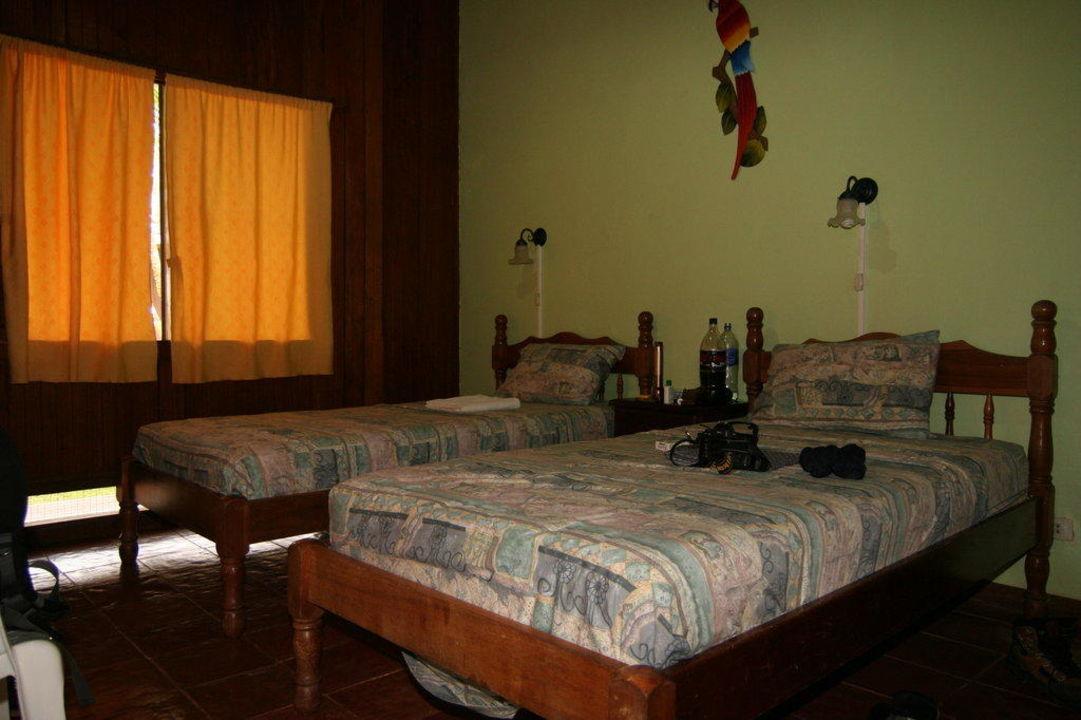 Zimmer der Lodge Hotel Laguna del Lagarto Lodge