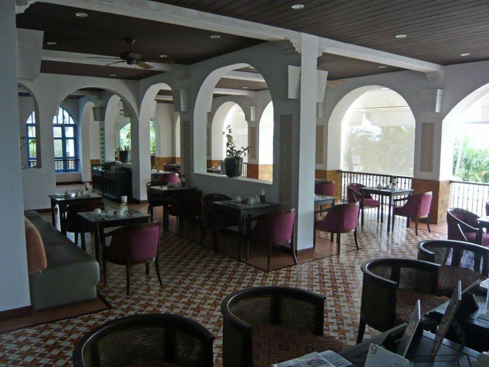 Das Frühstücksrestaurant The Imperial Samui (Vorgänger-Hotel – existiert nicht mehr)