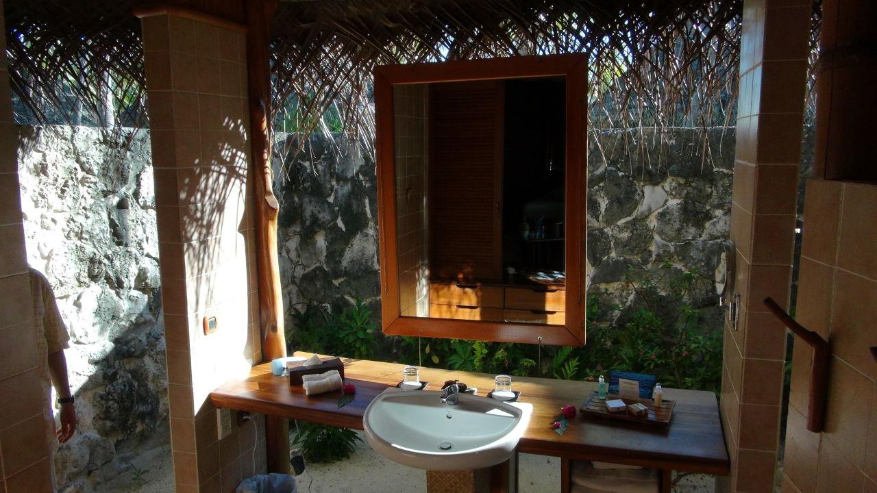 Badezimmer Tikehau Pearl Beach Resort Tikehau Holidaycheck