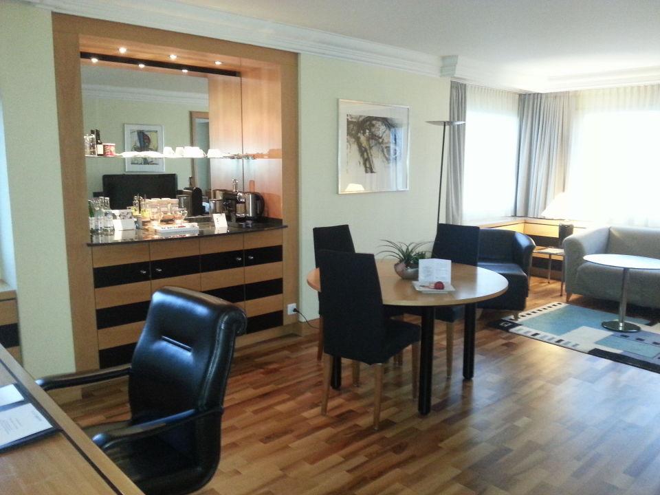 Suite 2020 Wohnzimmer Hotel Swissotel Zurich Zurich