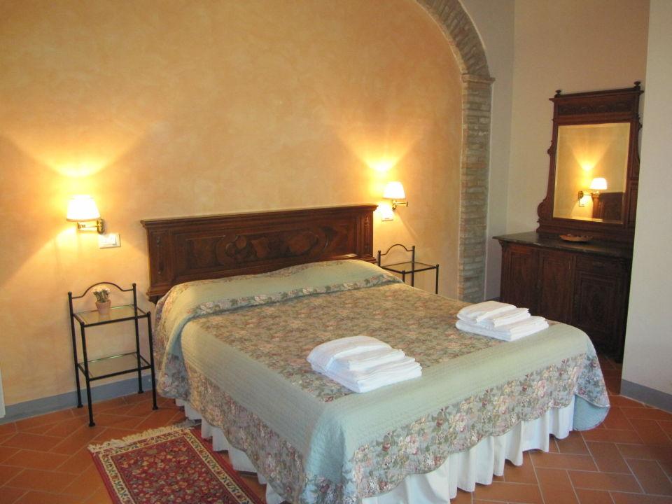 Slaapkamer met airco Borgo Della Meliana