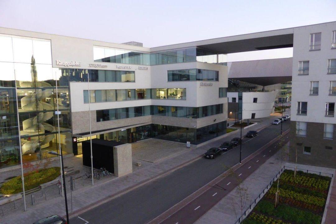 Ausblick auf dem Bürogebäude Apart Hotel Aallonkoti