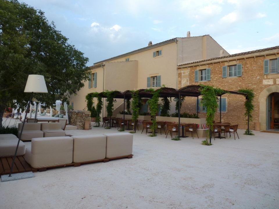 Lounge im Freien\