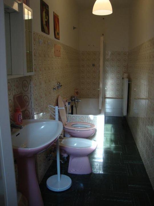 Gemeinsames Badezimmer für alle Zimmer B&B Ancient Venice