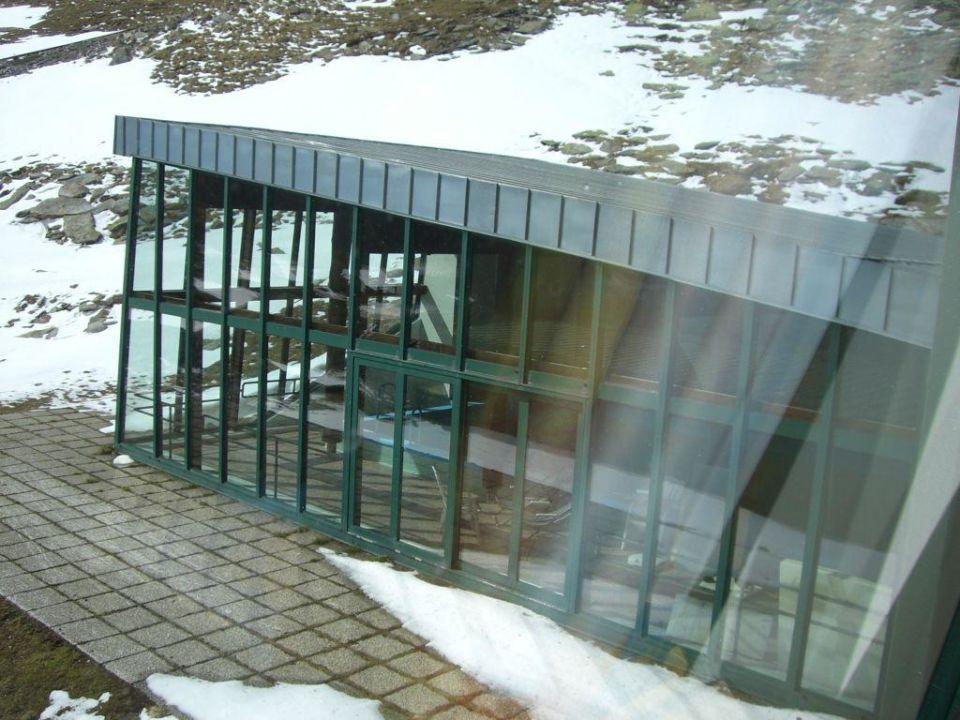 Ansicht von aussen auf schwimmbad berghotel reisseck for Schwimmbad aussen