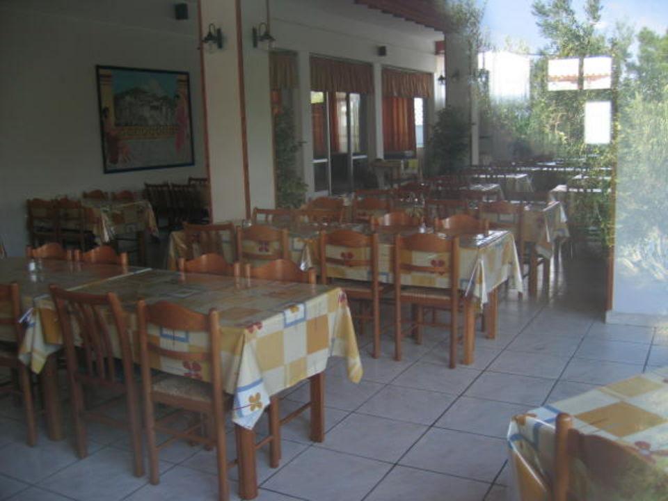 Blick in den Speisesaal Hotel Sonia Village