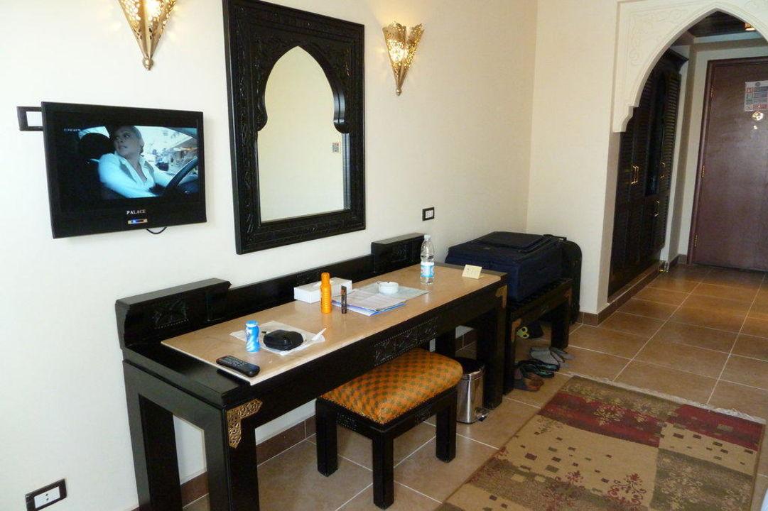 Schreibtisch im Zimmer Albatros Palace Resort