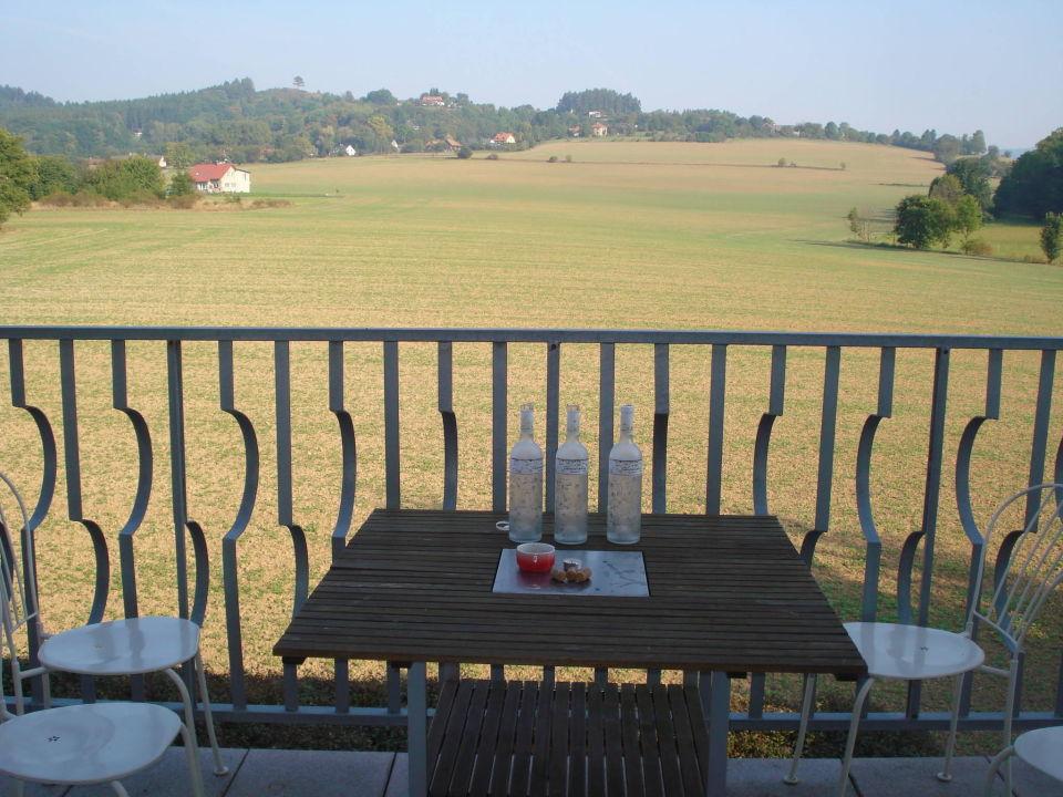 Balkon a pozornost podniku Hotel Filip