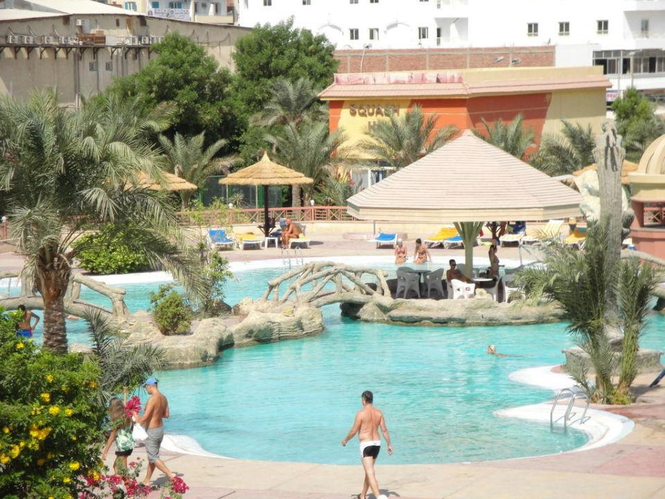 Baseny - nowa część Hotel Seagull Beach Resort