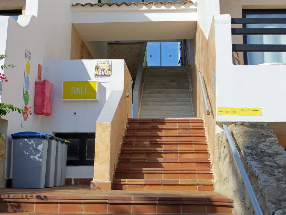 Treppenaufgang Zu Unserm Haus Hotel Club Bahamas Ibiza Adults