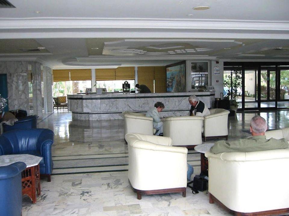 Rezeption vom Hotel SunConnect One Resort Monastir