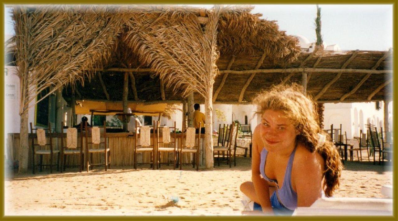 Am Strand mit Strandbar Arabella Azur Resort