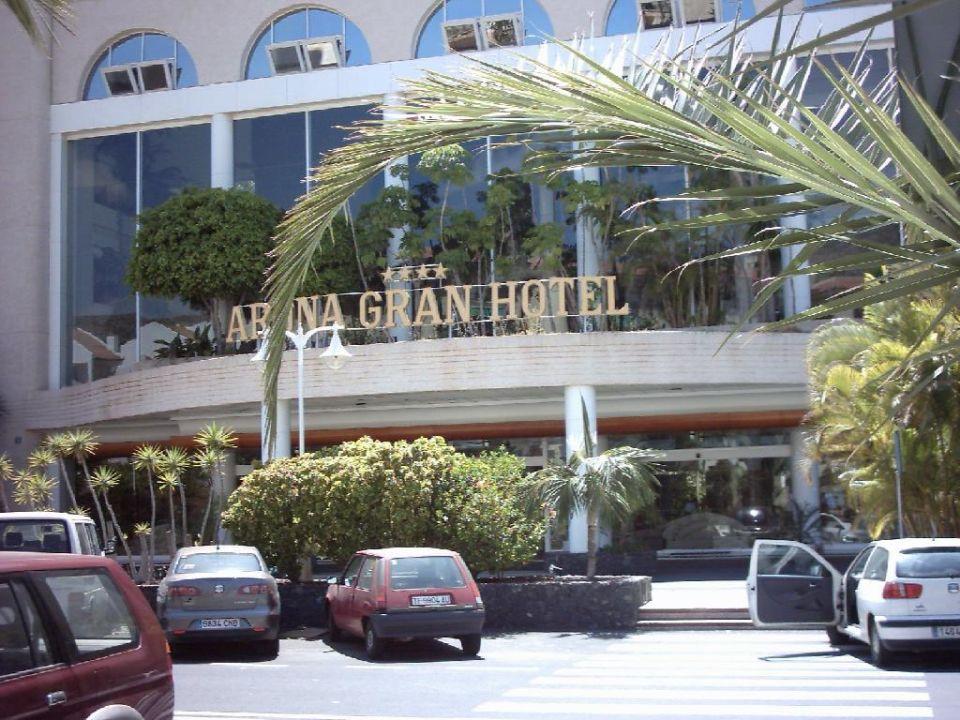 Hoteleingang Arona Gran Hotel Arona Gran Hotel & Spa - Adults only
