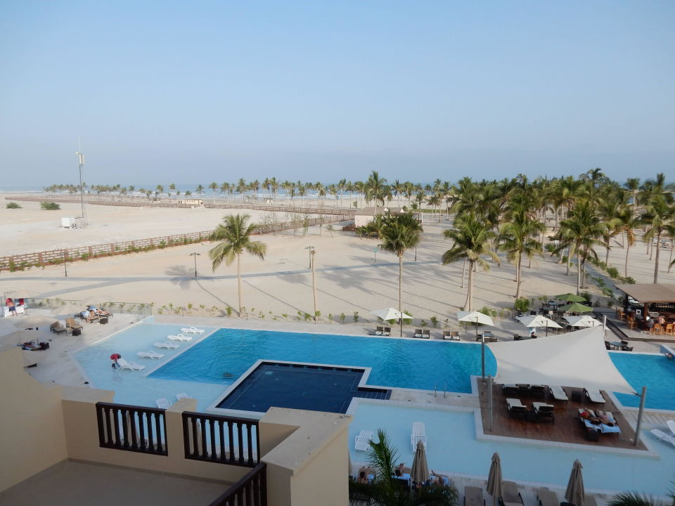 Ausblick Vom Balkon Fanar Hotel Residences Salalah Beach Taqa