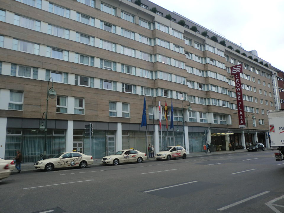 Das Frühstück Hotel Crowne Plaza Berlin City Centre