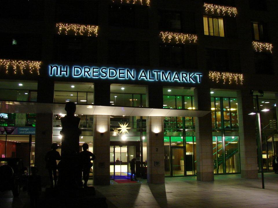 Aussenansicht Vom NH Hotel Collection Dresden Altmarkt