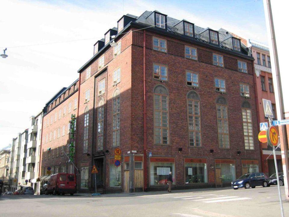 Aussenansicht Hotel Anna