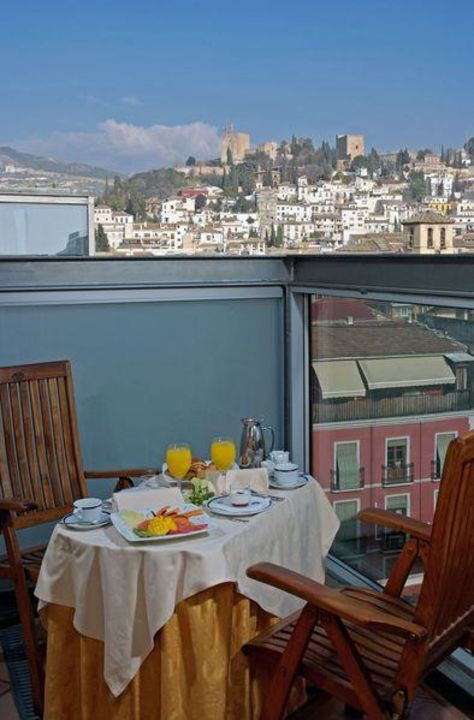 Vistas Hotel Melia Granada