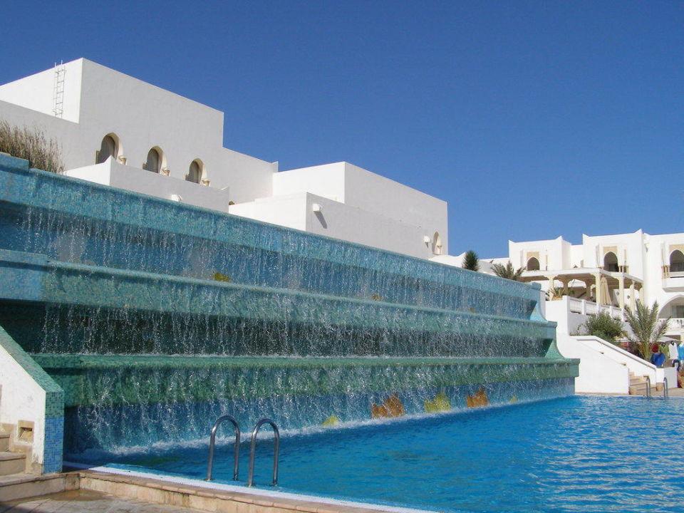 Wasserfall Am Pool TUI SENSIMAR Palm Beach Palace Djerba