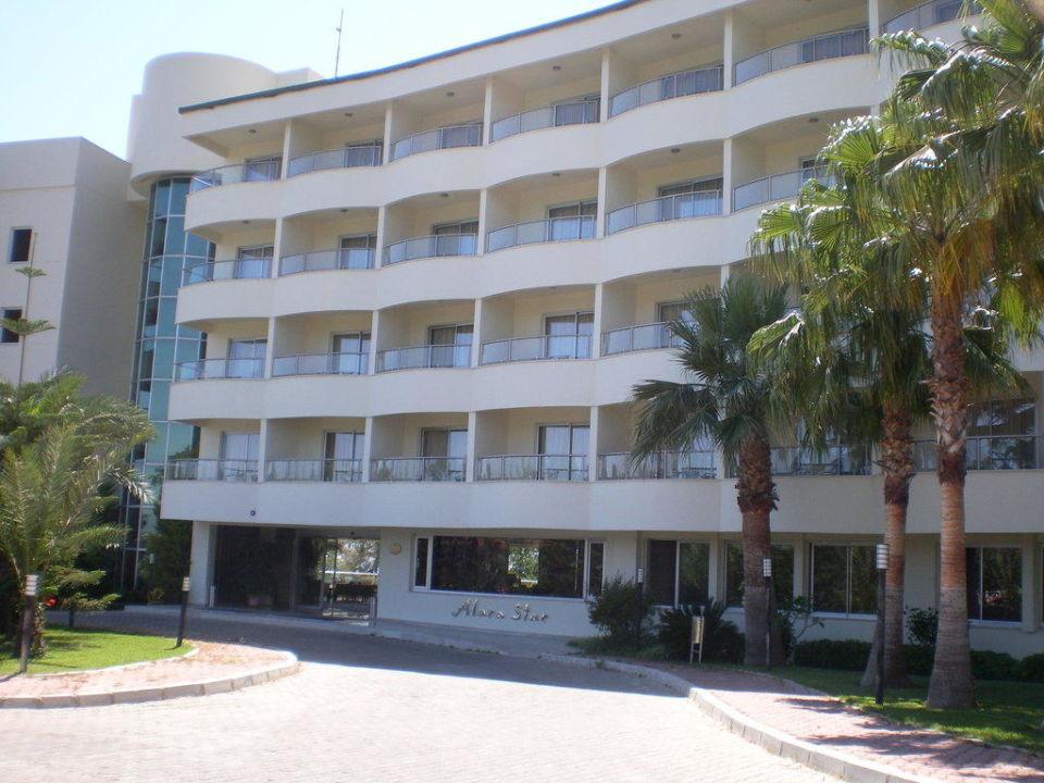 Der Eingang Hotel Alara Star