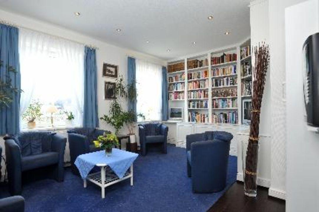 Bibliothek im Strandhotel Strandhotel Sylt