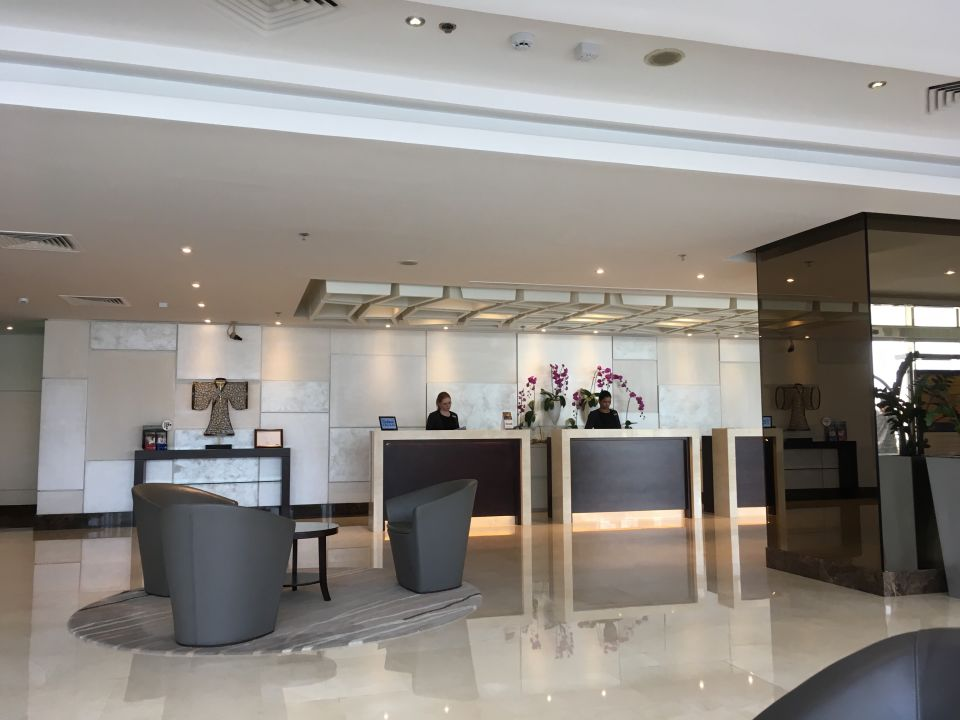 Lobby Jumeira Rotana Hotel