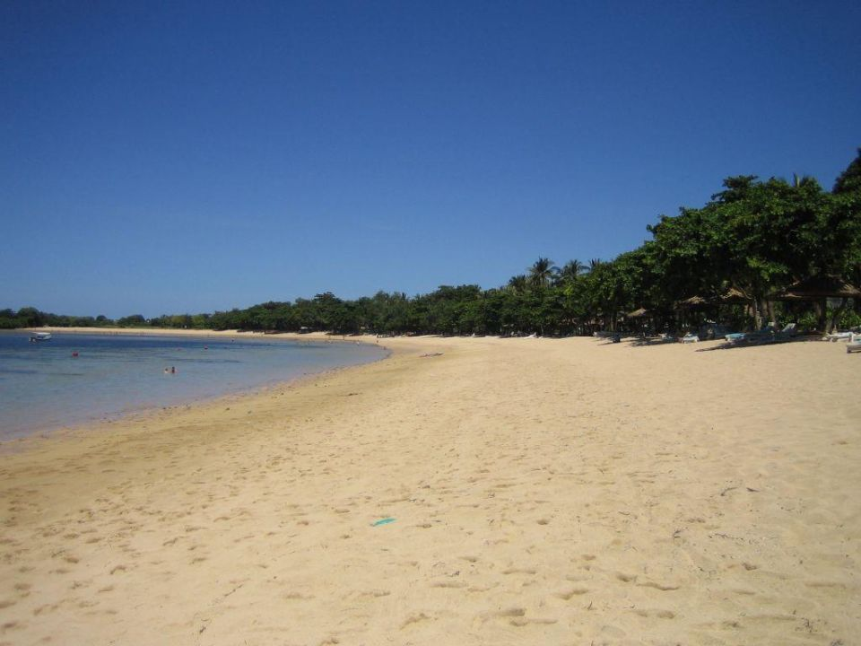 Strand bei Ebbe The Westin Resort Nusa Dua, Bali