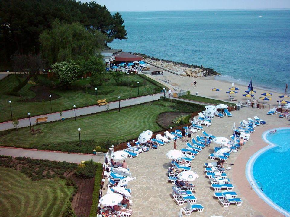 Strandrestaurant und Garten am Riviera Beach Hotel Hotel Riviera Beach