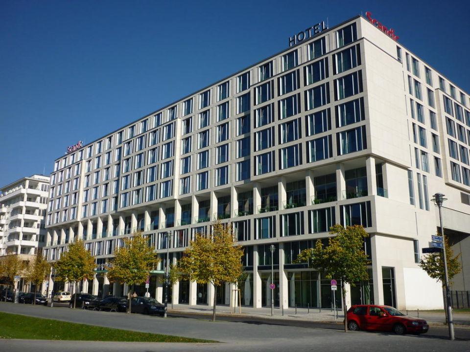 Außenansicht Hotel Scandic Berlin Potsdamer Platz
