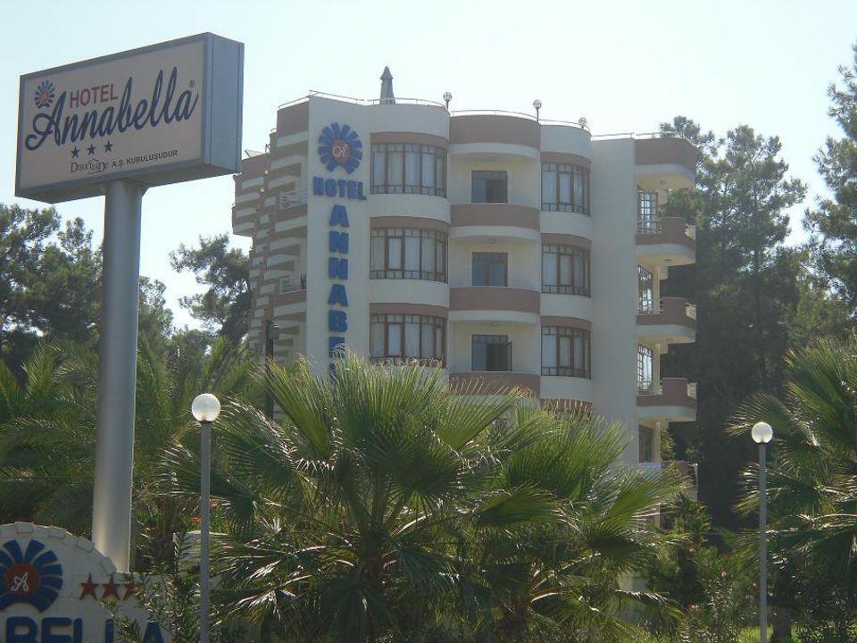 Hotel von Straßenansicht Annabella Diamond Hotel & Spa & Annex