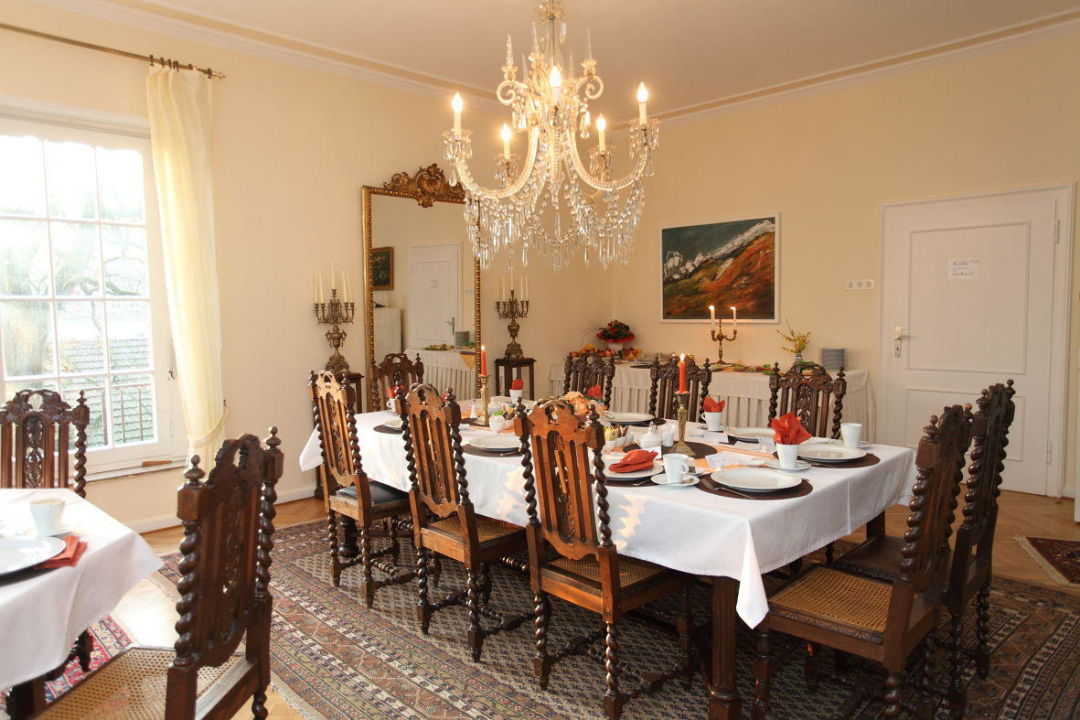 "Landhaus - Esszimmer"" Villa Carlshorst (Hilter Am Teutoburger Wald"
