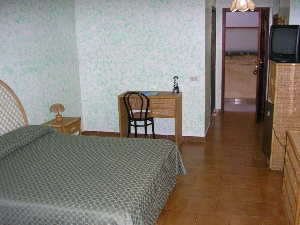 Zimmer im Hotel Garzia in Selinunt Hotel Garzia