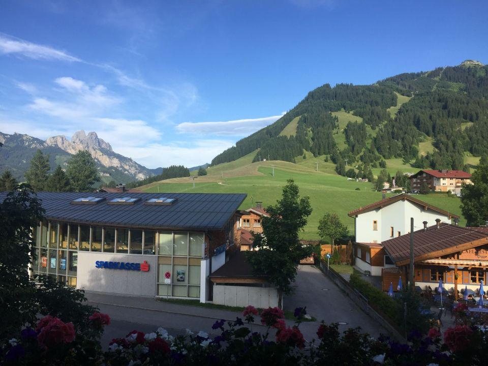 Ausblick Hotel Schwarzer Adler