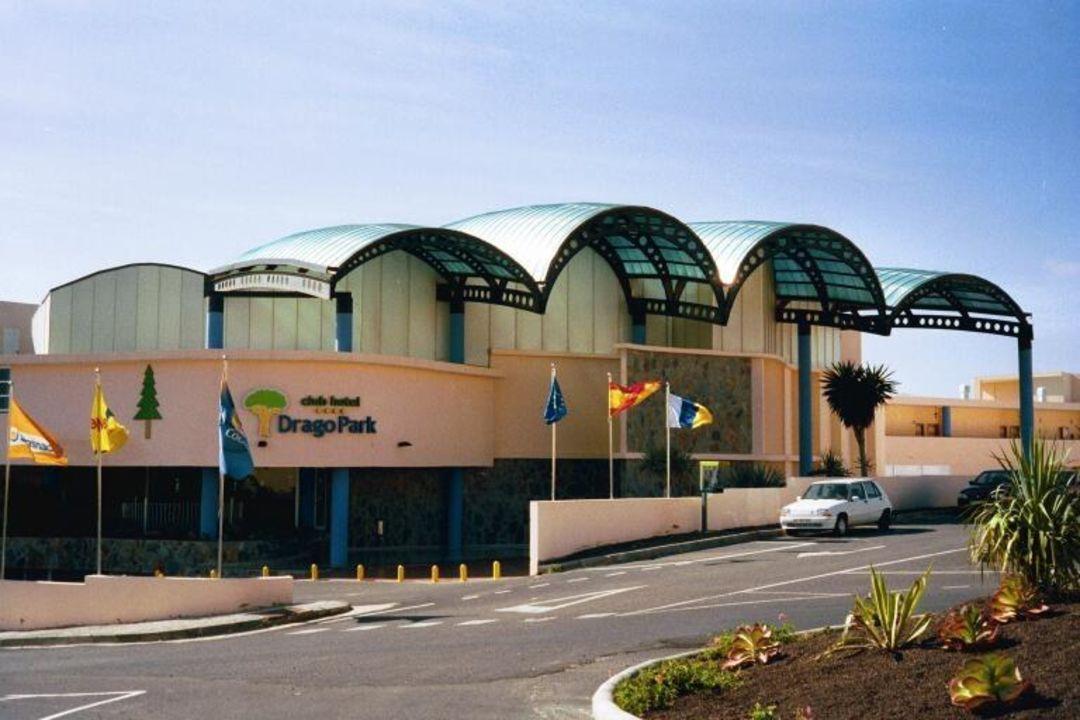 Costa Calma, Club Hotel Drago Park - Eingangs/Rezeptionsbere PrimaSol Drago Park