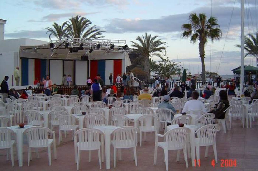 Die Animationsbühne im Hotel Barcelo El Castillo Hotel Barceló Castillo Beach Resort
