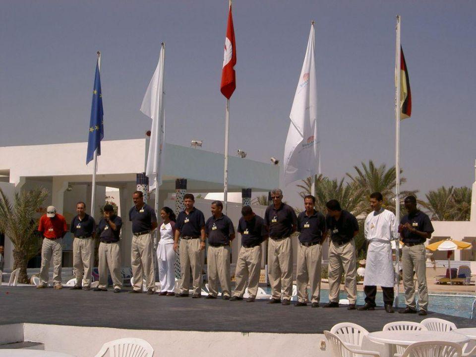 Personalchefs Hotel Djerba Paradise Resort