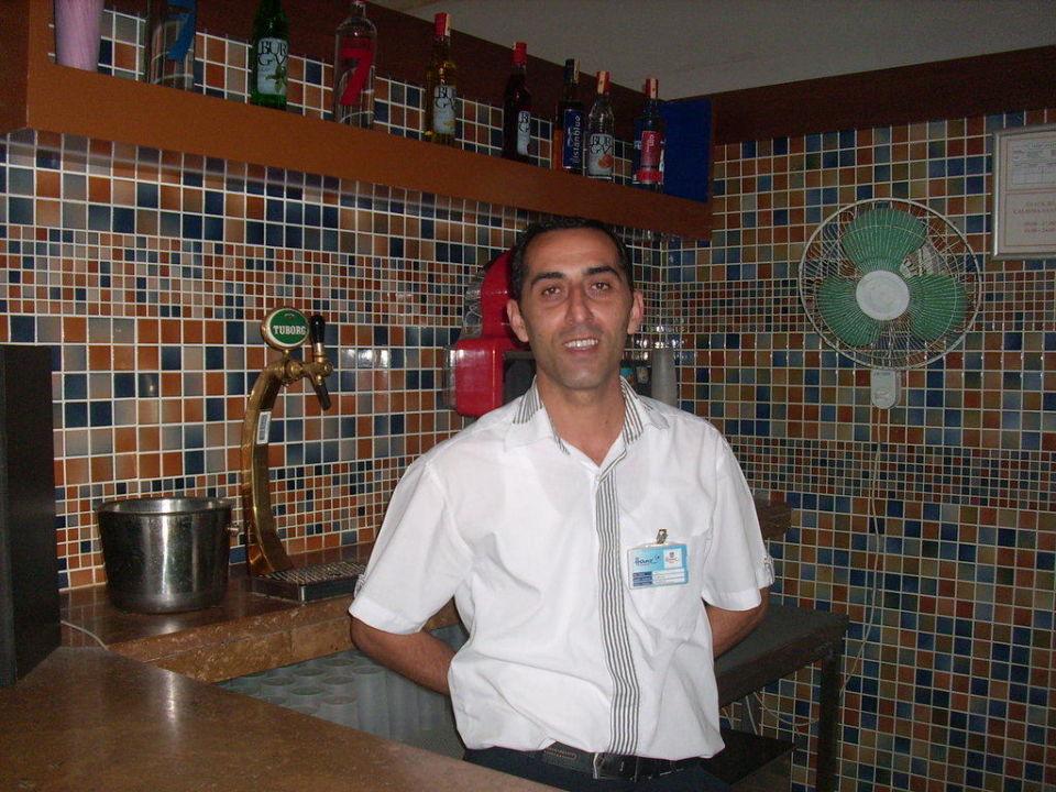 Ali von der Garten Bar Hane Hotel