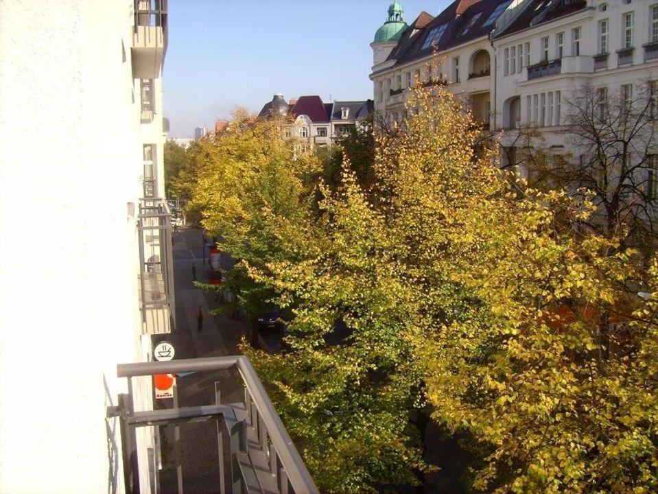 Ausblick vom Balkon Hotel Brandies Berlin