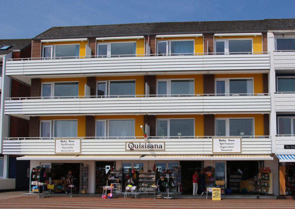 Ansicht von der Promenade Hotel Quisisana
