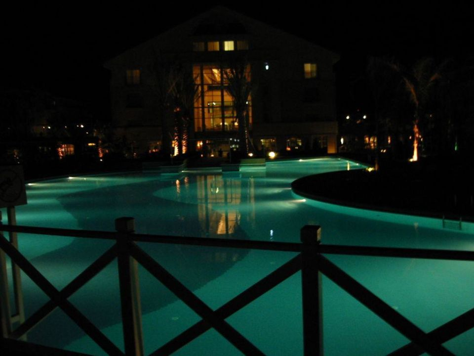 Pool bei Nacht Alva Donna Exclusive Hotel Belek