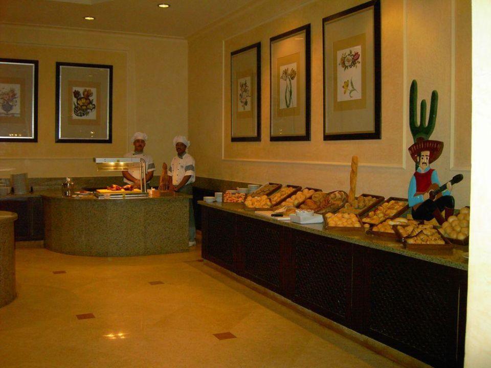 Buffet abends - Teil 1 Hotel JAZ Makadi Star & Spa