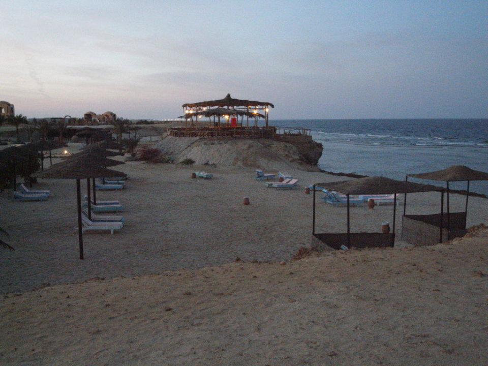 Strand am Abend Zabargad Berenice Resort Marsa Alam