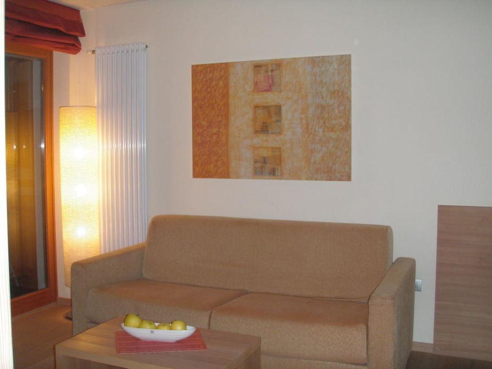 Wohnzimmer  Hotel Meran 2000 (Vorgänger-Hotel – existiert nicht mehr)