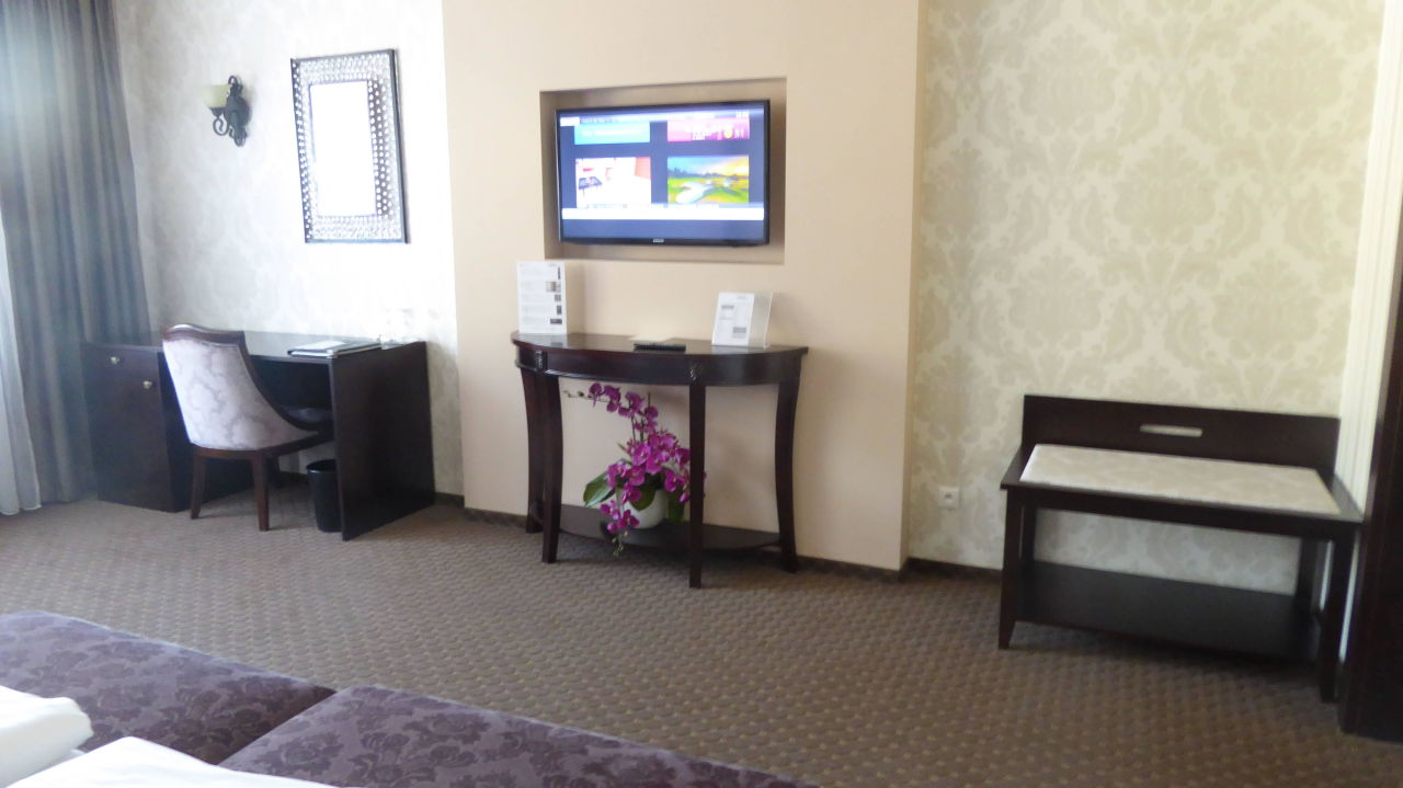 TV etc. Hotel Dvorana